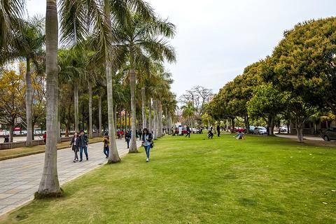 厦门大学旅游景点攻略图
