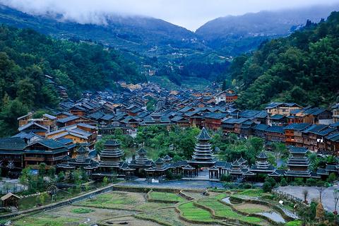 肇兴侗寨的图片
