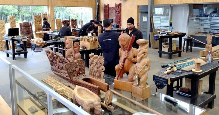 """""""毛利文化村是罗托鲁瓦的又一个重要看点。_奥希内穆图毛利文化村""""的评论图片"""