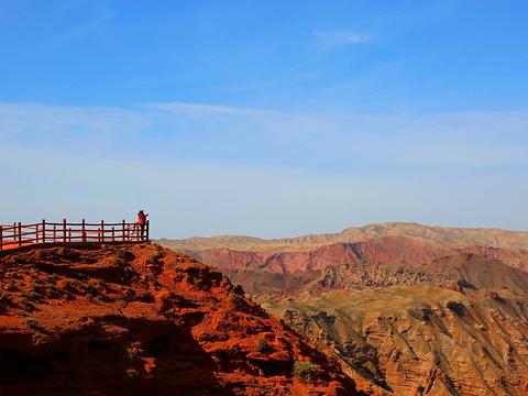 平山湖大峡谷旅游景点图片