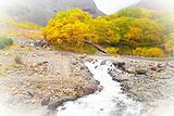 长白山瀑布