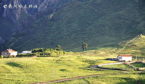 达合仓郎姆赛赤寺旅游景点攻略图
