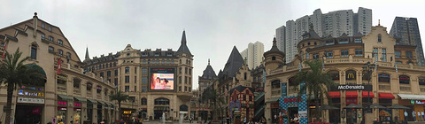 西班牙风情街旅游景点攻略图