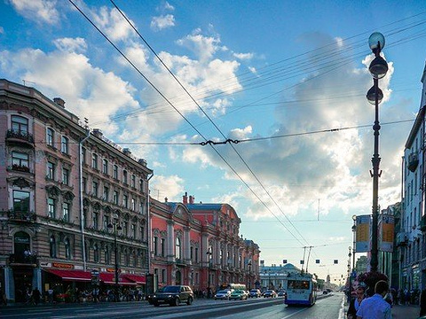 涅瓦大街旅游景点图片