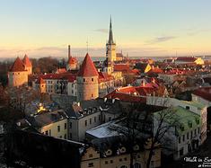 【爱沙尼亚】塔林:欧洲十字路口的中世纪童话城