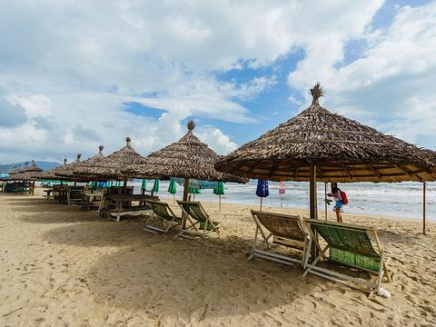 美溪海滩旅游景点图片