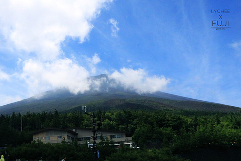 富士山五合目的图片
