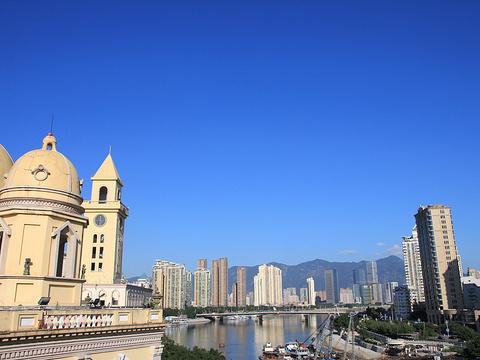 中洲岛旅游景点图片