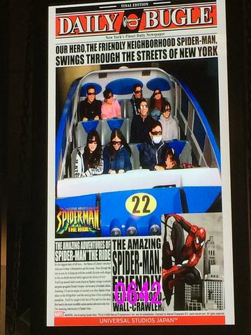 """""""特别是来到日本大阪,日本环球影城是不容错过的以电影为特色的主题乐园,分为纽约区、好莱坞区、旧金..._日本环球影城""""的评论图片"""