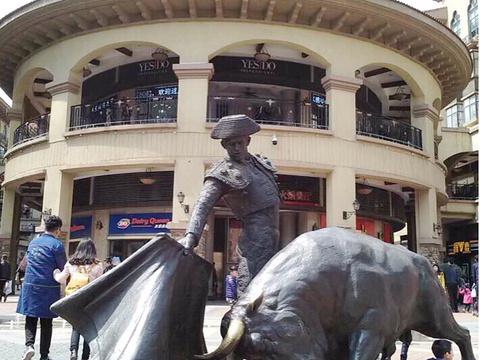 西班牙风情街旅游景点图片