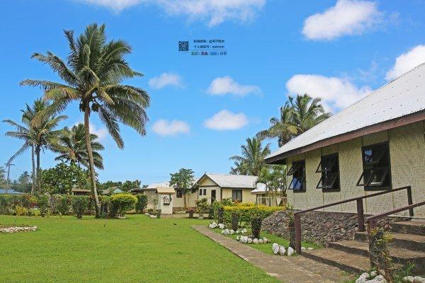 斐济土著村落图片