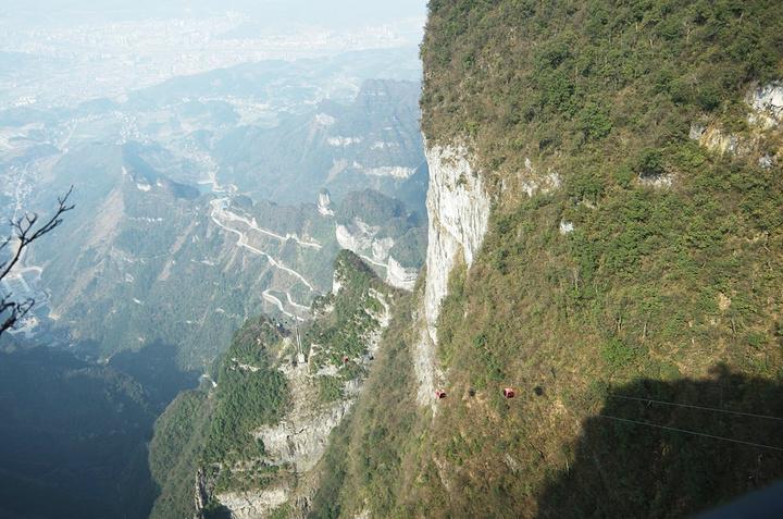 """""""传说中的玻璃栈道在大峡谷,当时我们去的时候(2月份)还没开放。这个栈道不是网上那个玻璃栈道。门票_张家界国家森林公园""""的评论图片"""