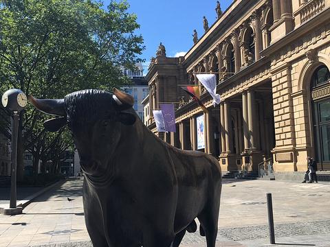 法兰克福证券交易所旅游景点图片