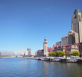 海河游船天津站码头