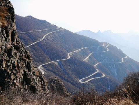 北京霞云岭森林公园白草畔自然风景区