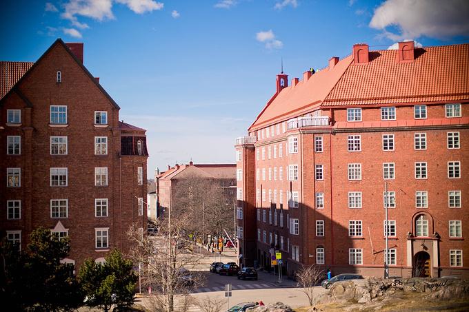 风雪中的赫尔辛基图片