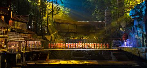 《边城》大型森林剧场演出