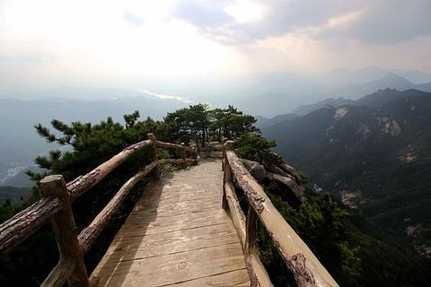 天堂寨风景区旅游景点攻略图