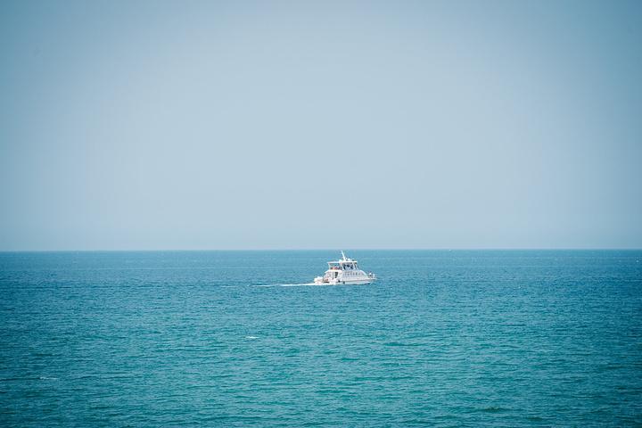 """""""因为在这个海水浴场玩了一整天,还是挺累的所以打算休息一天再出发下一站再感受下威海的慢生活_威海国际海水浴场""""的评论图片"""