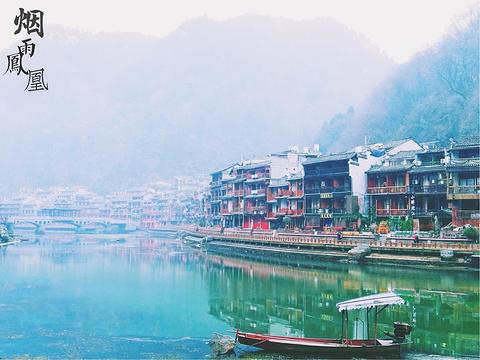 沱江泛舟旅游景点图片