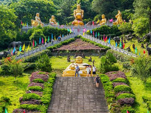 马仁奇峰风景区旅游景点图片