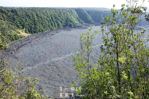 夏威夷火山国家公园旅游景点攻略图
