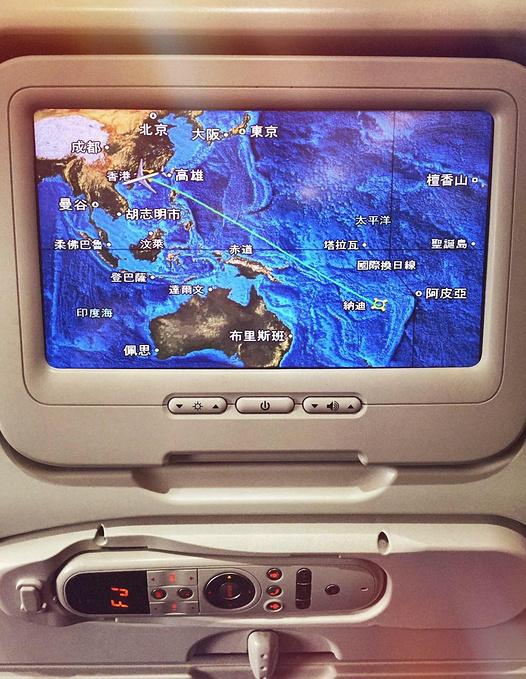 斐济航空餐图片