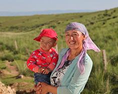 来到新疆,才知道自己站在了天堂的正中央