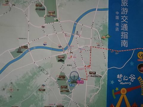 梦幻谷景区旅游景点攻略图