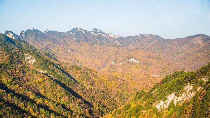 白云山小黄山景区图片