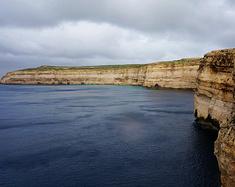 冬日马耳他风雨历险记,留下一张蓝窗遗照