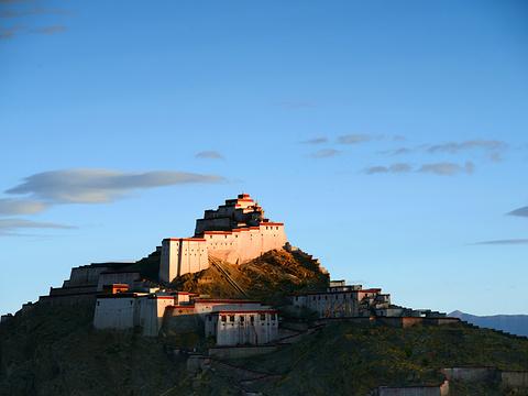 江孜宗山古堡旅游景点图片