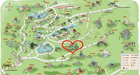 庐山植物园旅游景点攻略图