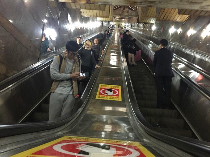 两路口皇冠大扶梯图片