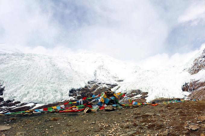 卡若拉冰川图片