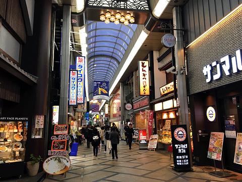 奈良商业街旅游景点攻略图
