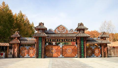 街津口赫哲族民族村旅游景点攻略图