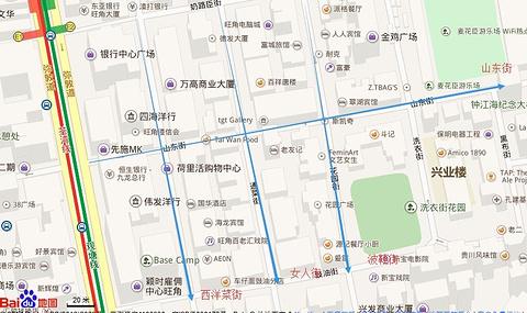 花园街旅游景点攻略图