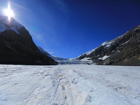 冰川天空步道旅游景点图片