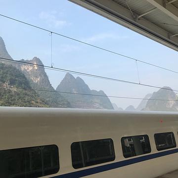 阳朔高铁站旅游景点攻略图