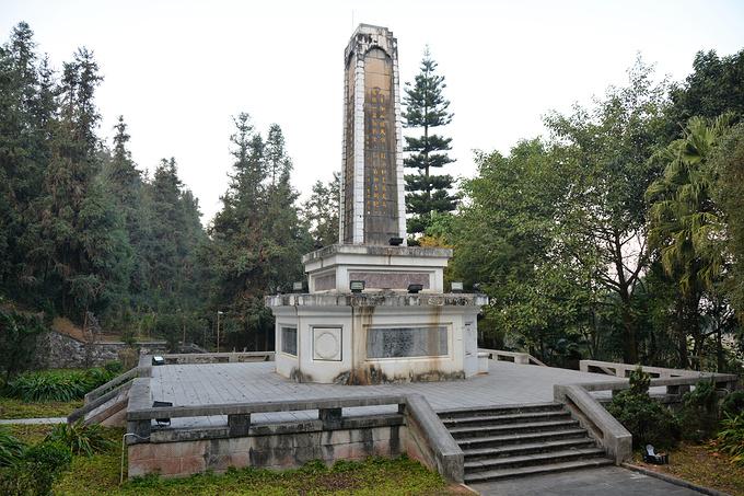滇西抗日战争纪念碑图片