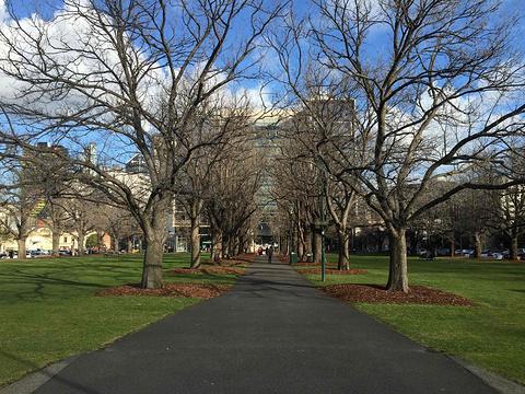 墨尔本大学旅游景点攻略图
