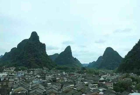 黄姚古镇旅游景点攻略图
