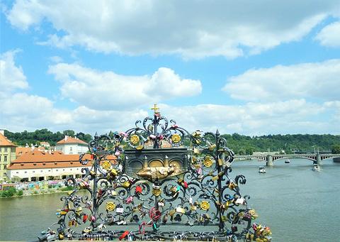 查理大桥旅游景点攻略图