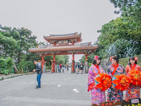 冲绳首里城公园旅游景点图片