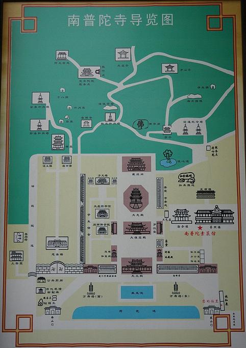 南普陀寺旅游导图