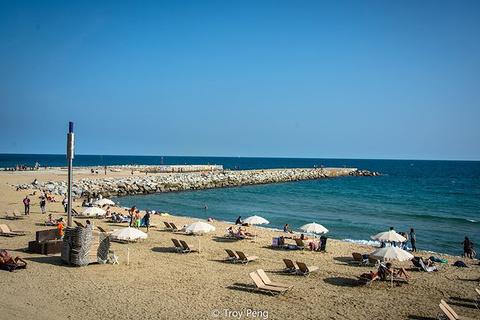 巴塞罗那沙滩