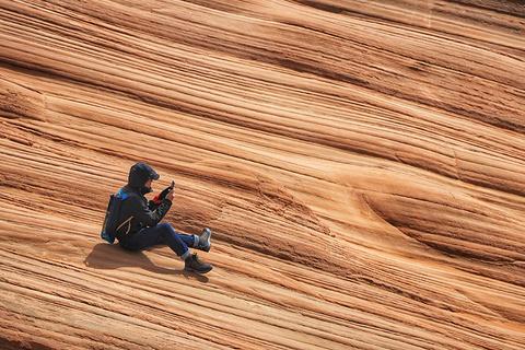 靖边龙洲丹霞地貌自然景观区旅游景点攻略图