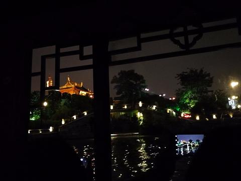 苏州古运河游船(新市桥码头)旅游景点图片