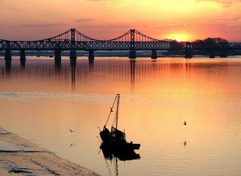 鸭绿江断桥旅游景点攻略图